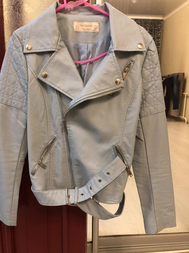 Классная куртка нежно голубого цвета.. | Объявления Орска и Новотроицка №18299