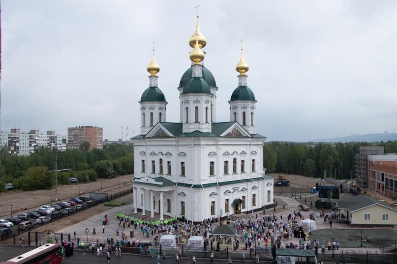 Православные волонтеры «Союза Маринс Групп» оказали помощь в освящении храма в Нижнем Новгороде