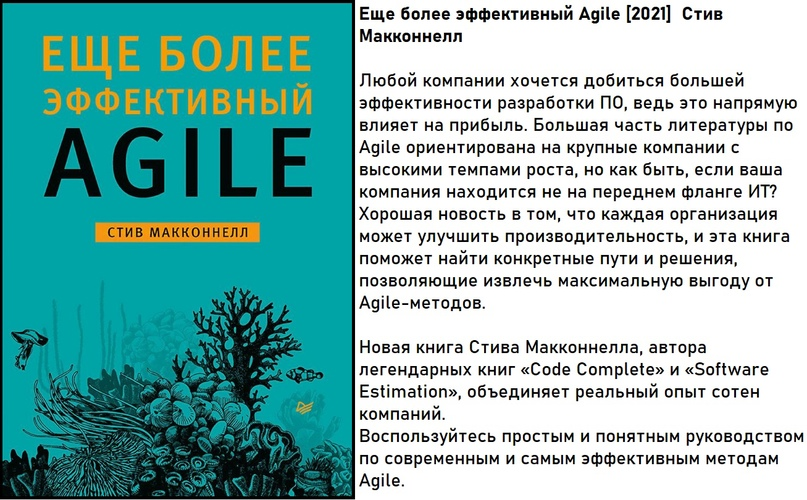Еще более эффективный Agile [2021] Стив Макконнелл