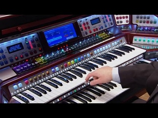 Lowrey Symphony virtual orchestra home organ