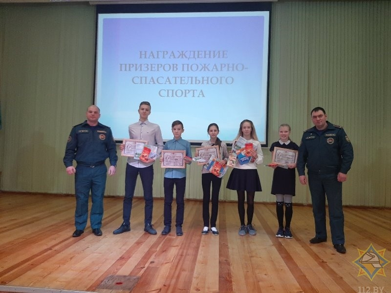 Витебск. Лучшие из лучших в пожарно-спасательном спорте