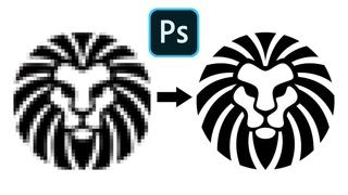 Come Convertire una Grafica da Bassa ad Alta Risoluzione in Photoshop