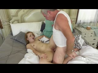 [DevilsFilm] Cleo Clementine - Grandpas Helping Hands [2020, All Sex, Blonde, Tits Job, Big Tits, Big Areolas, Blowjob]