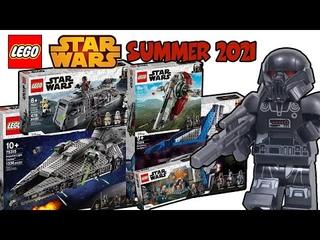 НОВИНКИ ЛЕГО ЗВЕЗДНЫЕ ВОЙНЫ ЛЕТНЕЙ ВОЛНЫ 2021 | NEW LEGO Star Wars SUMMER 2021