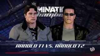 Terminator 1 VS Terminator 2 (WWE 2K16)