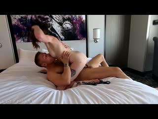 Aria Khaide Hooks Up With Mick Blue in Hotel [Gonzo Hardcore All Sex]