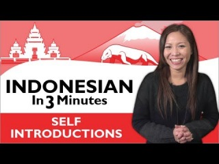 Learn Indonesian - How to Introduce Yourself in Indonesian