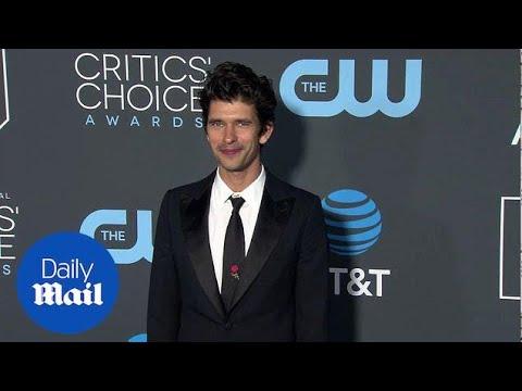 Ben Whishaw is dapper ahead of winning Critics Choice Award