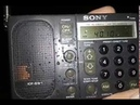An evening Shortwave bandscan with the legendary Sony ICF-SW1