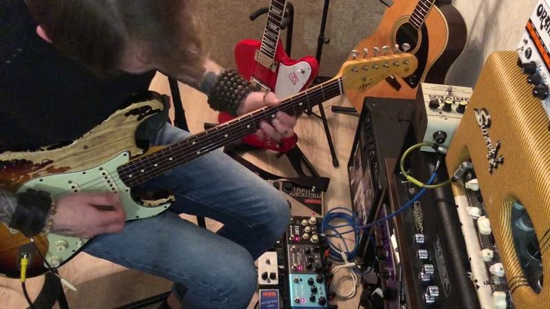 Fender Stratocaster 62 Custom Shop LTD Namm 04.10.07oneStrymon Ola и Electro-Harmomonix Memory man