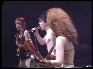 THE CRAMPS Bourges, France, 1 April 1986, Heartbreak Hotel, Chicken 4 more with Fur Dixon