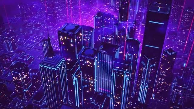 Neon City · coub коуб