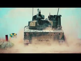 Испытания танка «Спрут-СДМ1» на море и в субтропиках