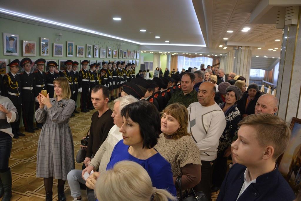 Состоялся концерт в честь воинов-афганцев