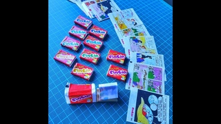 Unwrapping Dandy Cincin 1-96 Series ~ Balonlu ciklet~ bubble gum~guma mestecat~surprize guma Cincin
