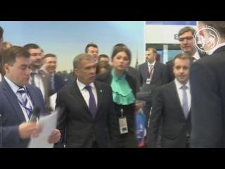 Рабочая поездка Президента Республики Татарстан в Санкт-Петербург