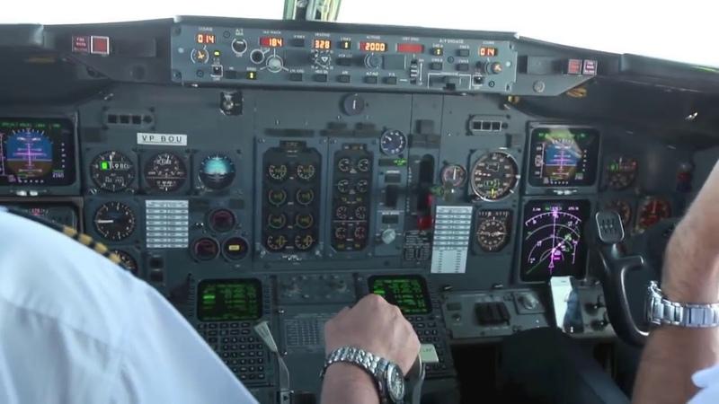 Когда нужно можно и на короткую полосу сесть В 737 300