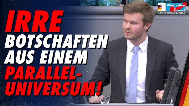 Irre Botschaften aus einem Paralleluniversum! - Michael Espendiller - AfD-Fraktion im Bundestag