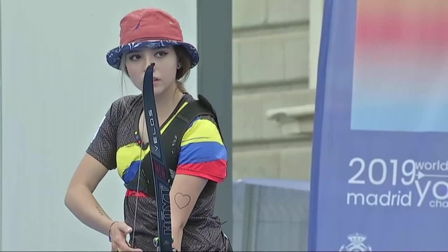 Ana P. Vazquez v Valentina A. Giraldo – recurve junior women gold | World Youth Championships 2019
