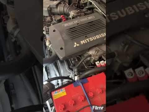 Mitsubishi Pajero sport 2007 год 3 литра бензин замена основного радиатора