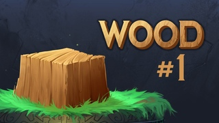 How to paint WOOD TEXTURE! - Let's draw WOOD! #1