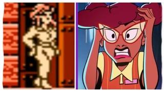 Evolution of April O'Neil in Games