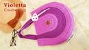 Crochet    Tutorial Violetta Bag - Crochet Bag [Subtitles Available]