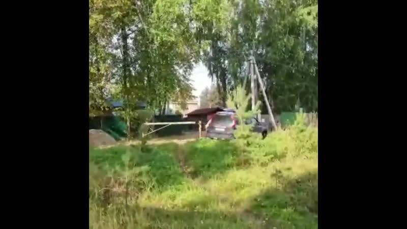 Погоня в районе 17 го километра Велижанского тракта Тюмень