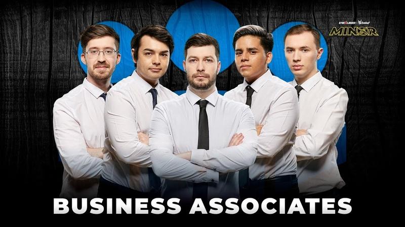 Team Profile business associates StarLadder ImbaTV Dota 2 Minor Season 3