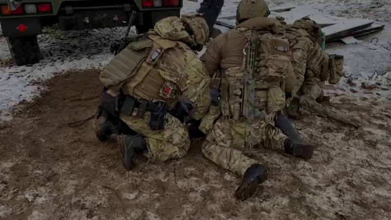 Соревнования по практической стрельбе среди малых тактических групп