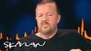 – If you're mildly conservative on Twitter, you're Hitler Ricky Gervais SVT/TV 2/Skavlan