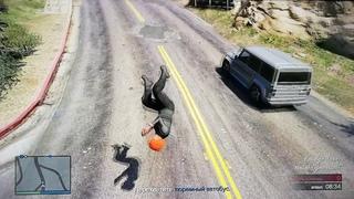 """GTA5 online: Забавные моменты и падения (Ограбления, часть 13) """"Побег из тюрьмы"""""""