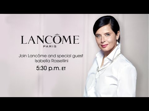 Isabella Rossellini for Lancôme Rénergie Multi-Glow Cream | HSN