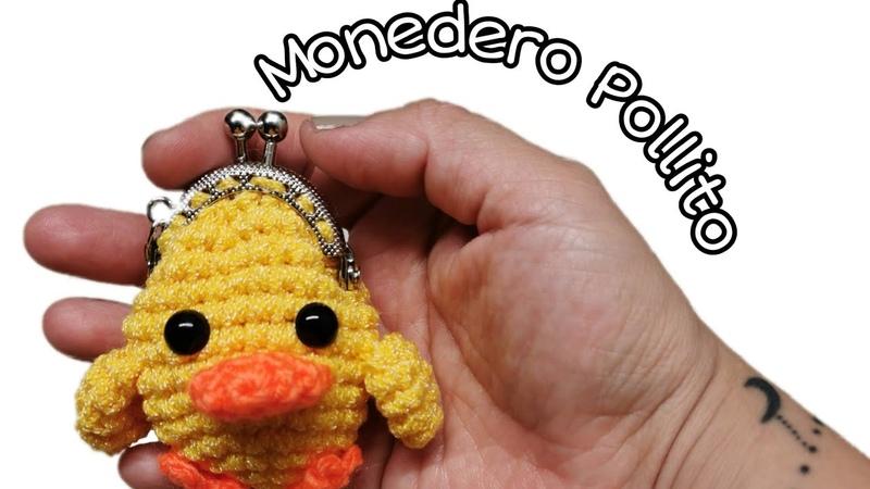 Monedero Pollito 🐥 Crochet