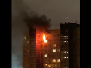Пожар на Красноярской