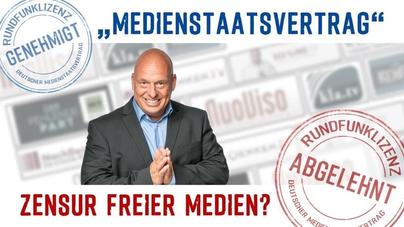 Medienstaatsvertrag – Zensur freier Medien?   12.11.2018   www.kla.tv/13328