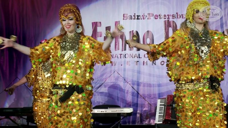 Gawazee Коллектив Скарабей под руководством Даниэллы Gala Сlosing Ethno Dance 2017