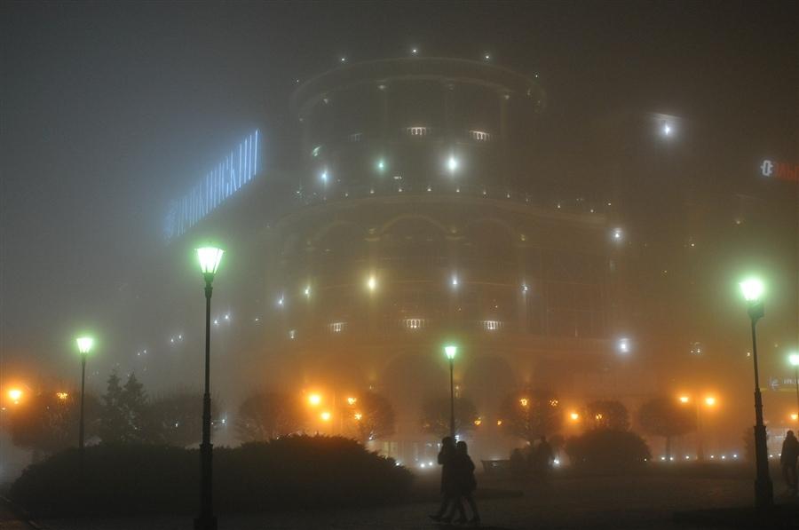 Курских автомобилистов предупреждают о ночном тумане