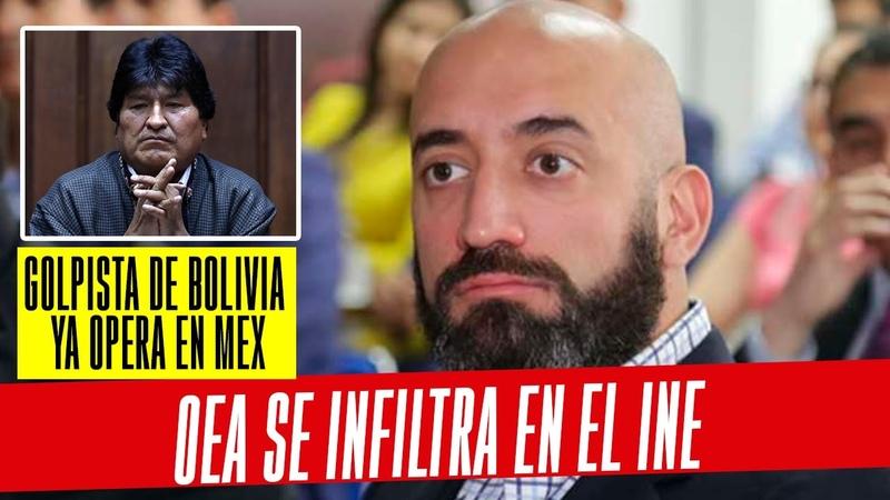 ¡Esto acaba de pasar! El operador del golpe en Bolivia ya está infiltrado en el INE