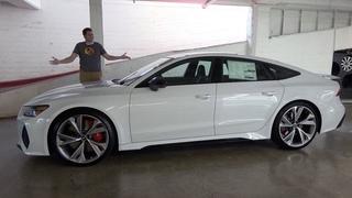 Audi RS7 2021 года - это люксовый монстр за $120 000