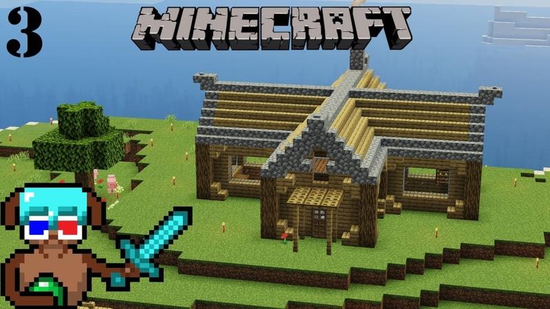 Голый и напуганный Разговорный эпизод Minecraft Таймлапс