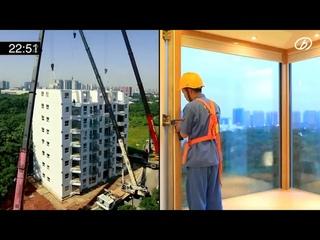 Китайский застройщик построил 10 этажку за 28 часов 45 минут