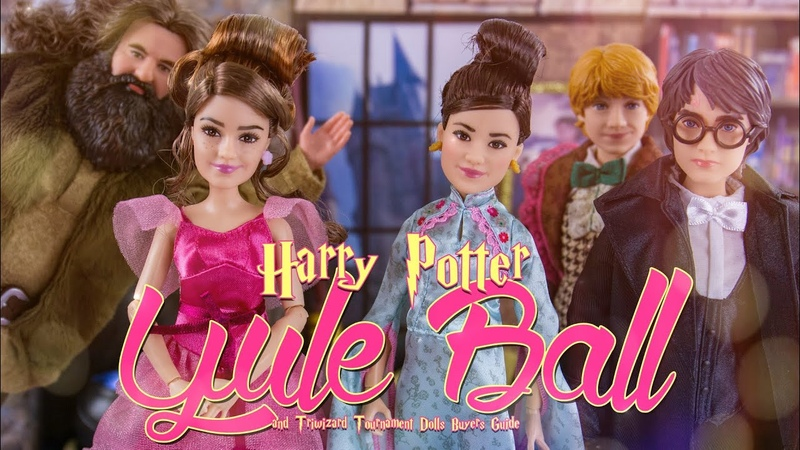 Unbox Daily Harry Potter Yule Ball Triwizard Tournament Dolls Buyers Guide
