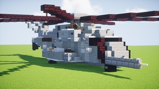 Minecraft CH-53E Super Stallion Helicopter Tutorial