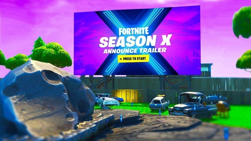 FORTNITE SEASON 10 Official Trailer (Season X) FULL HD   Фортнайт сезон 10 официальный трейлер (Сезон X) Фулл HD