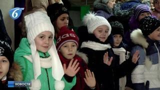 Отправка детей Горловки на новогоднюю елку к Главе ДНР