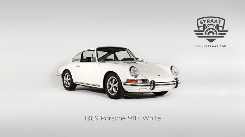 1969 Porsche 911T White