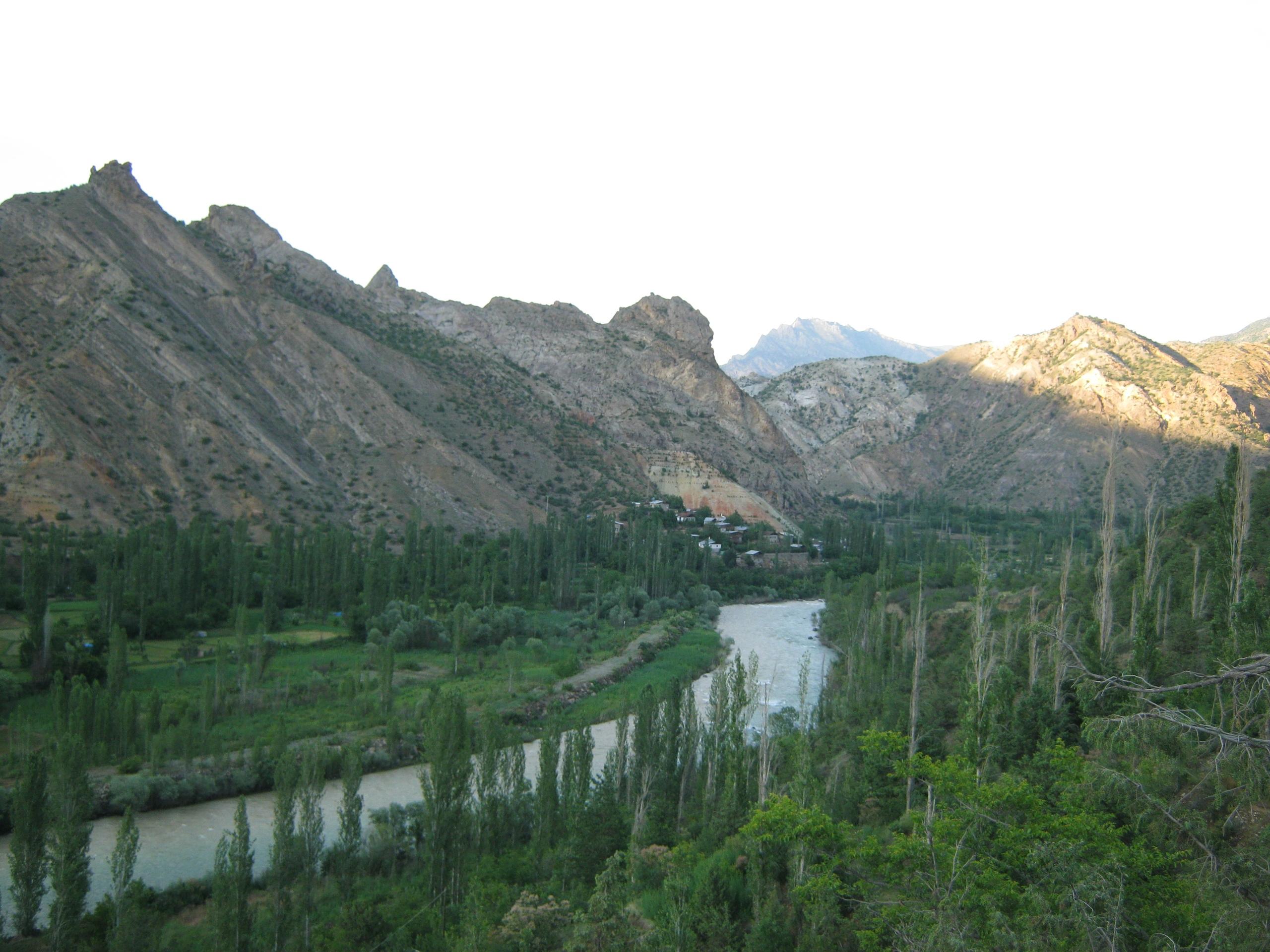 у подножия самых красивых турецких гор Качкар