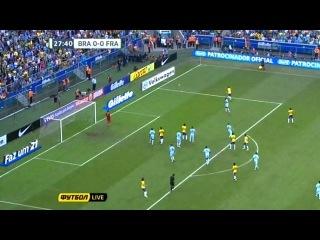 Neymar vs France (09/06/13)