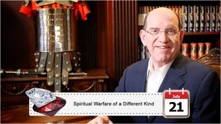 July 21: Spiritual Warfare of a Different Kind